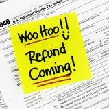 Refund Coming Sticky Note